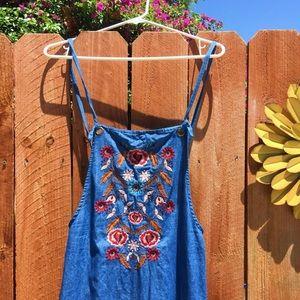 ✨Blue cloth overalls